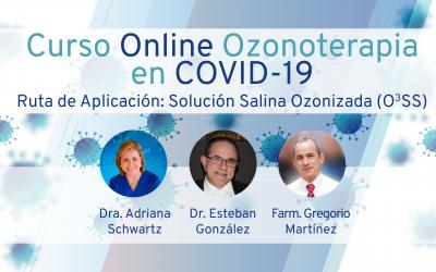 Curso Online: Ozonoterapia aplicada al COVID-19 (Solución Salina Ozonizada – O3SS)